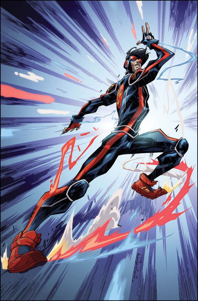 Catalyst Prime: Accell #1 (5 Copy Randolph Cover)