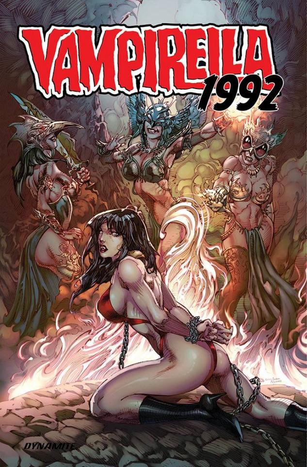 Vampirella: 1992 (Castro Cover)