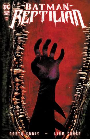 Batman: Reptilian #6 (Liam Sharp Cover)