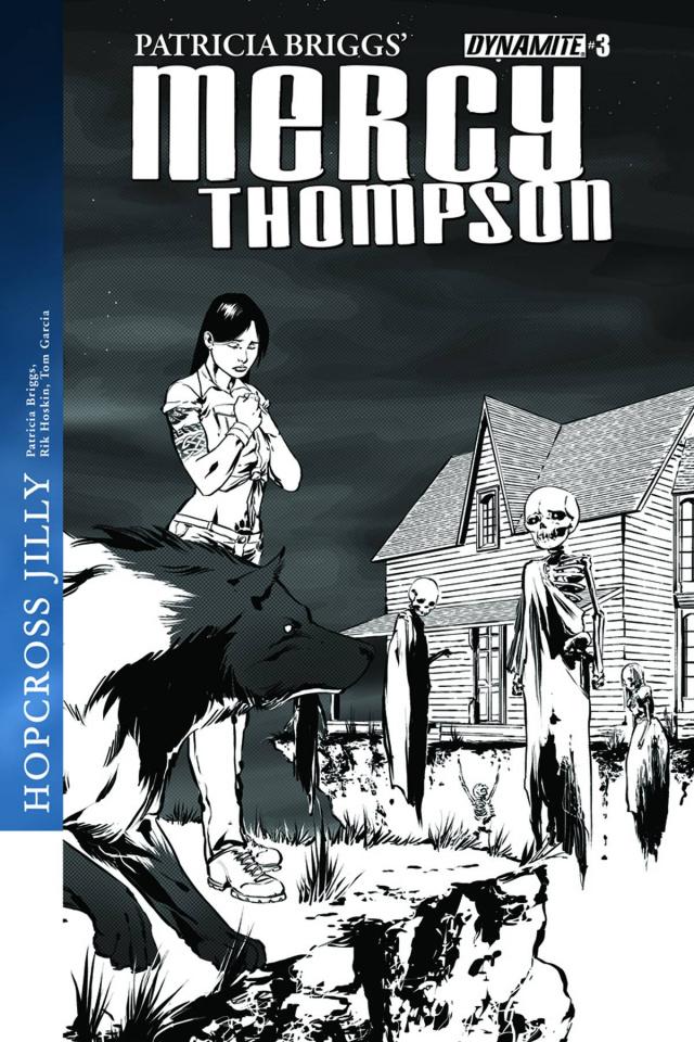 Mercy Thompson #3 (10 Copy Garcia B&W Cover)