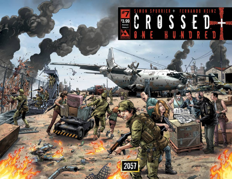Crossed + One Hundred #7 (American History X Wrap Cover)