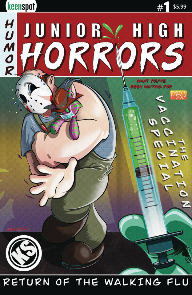 Junior High Horrors: The Walking Flu Vaccine Edition #1 (Beck Cover)