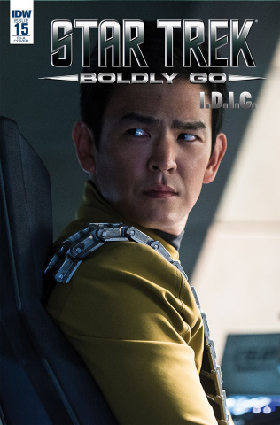 Star Trek: Boldly Go #15 (10 Copy Cover)