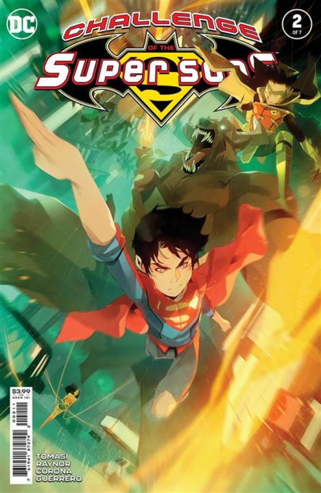 Challenge of the Super Sons #2 (Simone Di Meo Cover)
