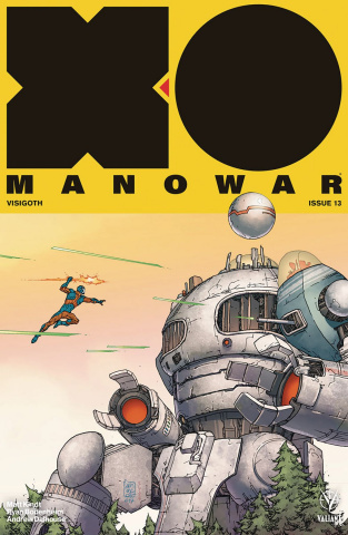 X-O Manowar #13 (Camuncoli Cover)