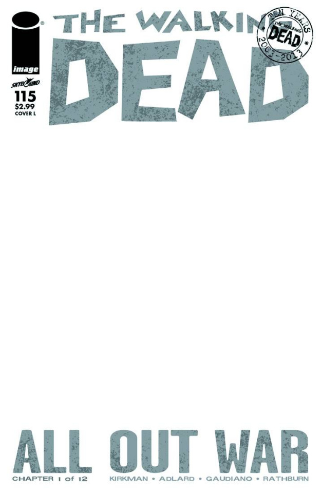 The Walking Dead #115 (Cover L)