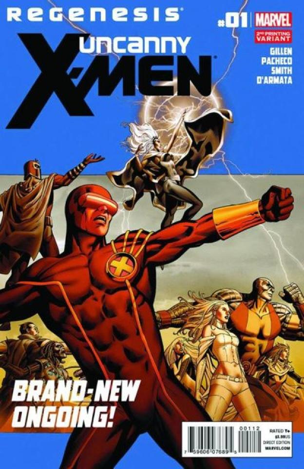 Uncanny X-Men #1 (2nd Printing)