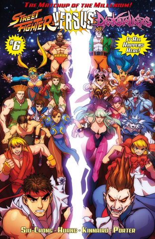 Street Fighter vs. Darkstalkers #6 (10 Copy Cover)