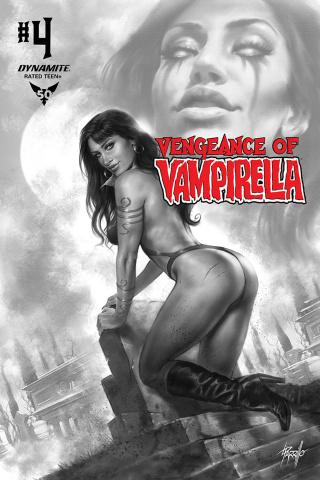 Vengeance of Vampirella #4 (11 Copy Parrillo B&W Cover)