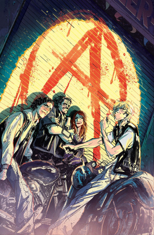 Sons of Anarchy: Redwood Original #1 (Subscription Ortiz Cover)