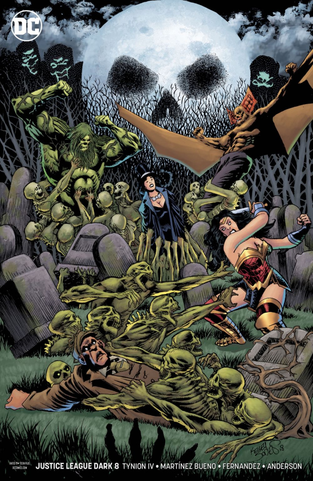 Justice League Dark #8 (Variant Cover)