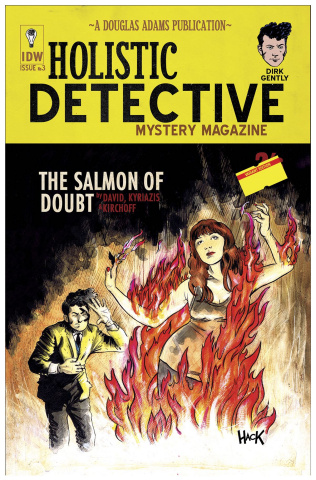 Dirk Gently's Holistic Detective Agency: The Salmon of Doubt #3 (10 Copy Cover)