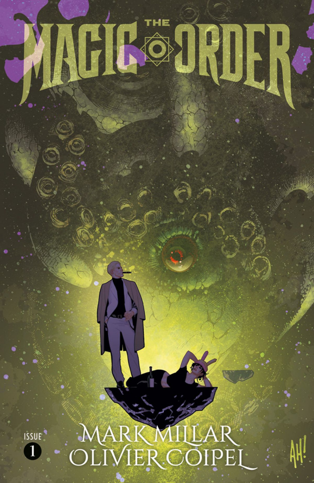 The Magic Order #1 (Hughes Cover)