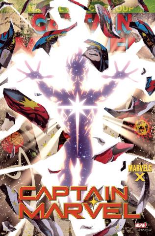 Captain Marvel #14 (Garner Marvels X Cover)