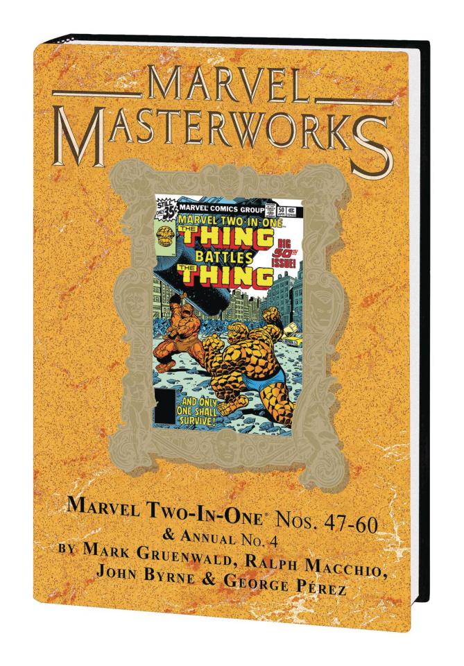 Marvel Two-in-One Vol. 5 (Marvel Masterworks)