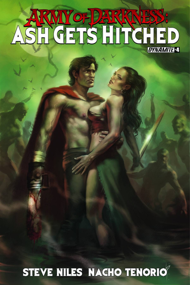 Army of Darkness: Ash Gets Hitched #4 (Subscription Cover)