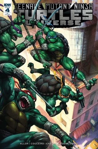 Teenage Mutant Ninja Turtles Universe #4 (10 Copy Cover)