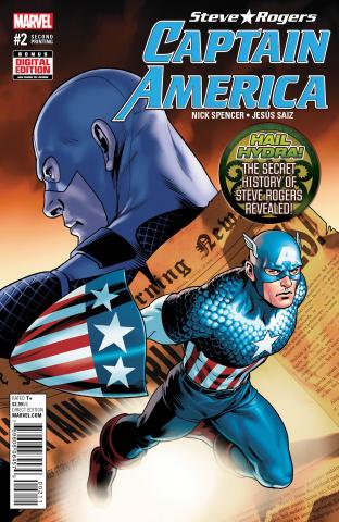 Captain America: Steve Rogers #2 (Saiz 2nd Printing)