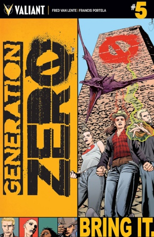 Generation Zero #5 (Mooney Cover)
