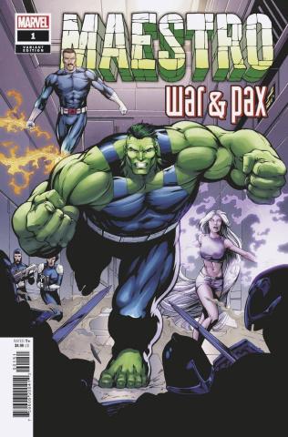 Maestro: War & Pax #1 (Frank Hidden Gem Cover)