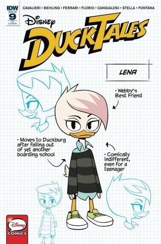 DuckTales #9 (10 Copy Cover)