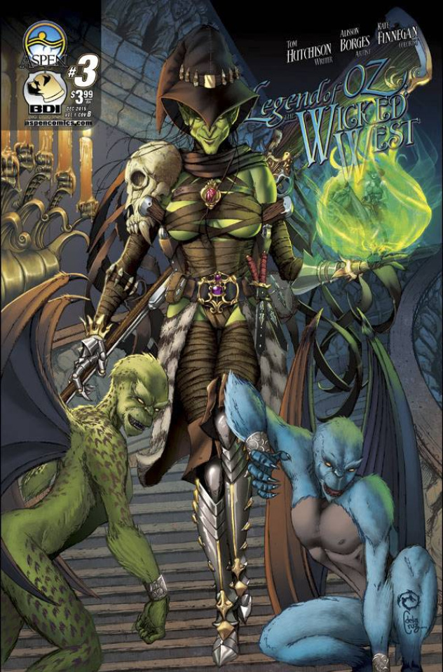 The Legend of Oz: The Wicked West #3 (Wichmann Cover)