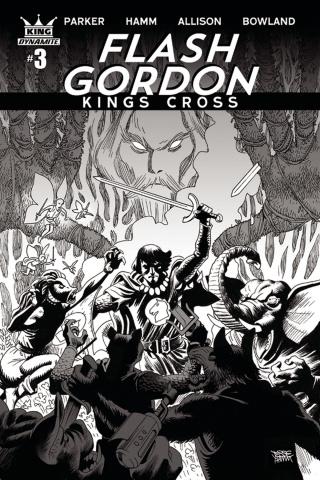 Flash Gordon: Kings Cross #3 (10 Copy Hamm Cover)