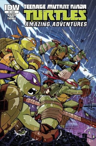 Teenage Mutant Ninja Turtles: Amazing Adventures #2
