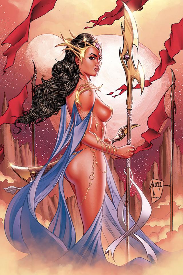 Dejah Thoris #1 (Tucci Virgin Cover)