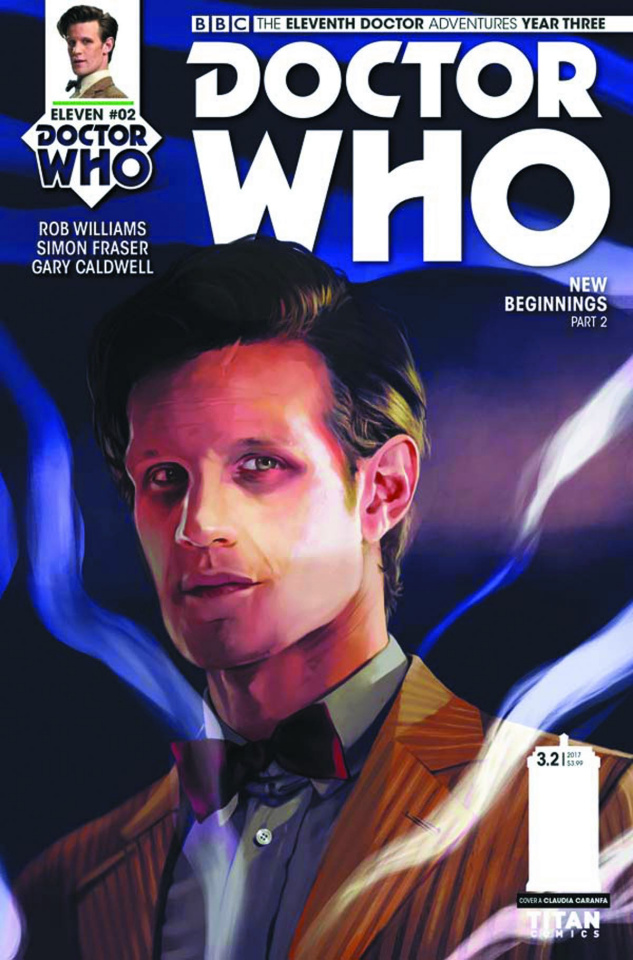 Doctor Who: New Adventures with the Eleventh Doctor, Year Three #2 (Caranfa Cover)