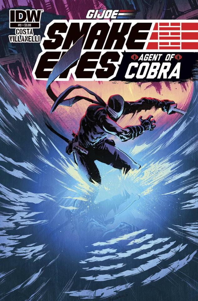 G.I. Joe: Snake Eyes - Agent of Cobra #3