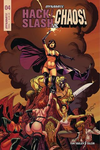 Hack/Slash vs. Chaos! #4 (Seeley Cover)