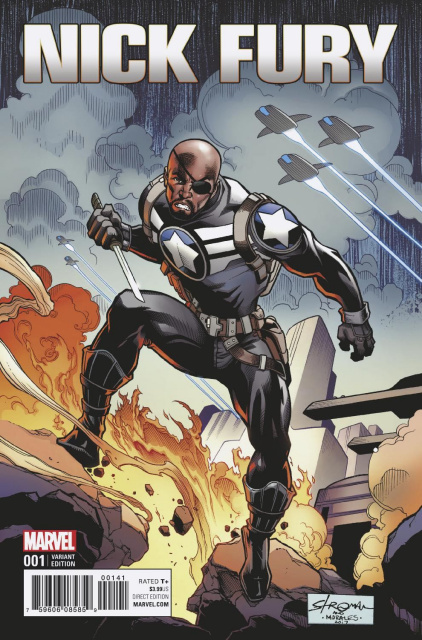 Nick Fury #1 (Stroman Cover)