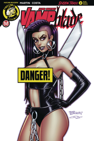 Vampblade, Season Three #2 (McKay Risque Cover)