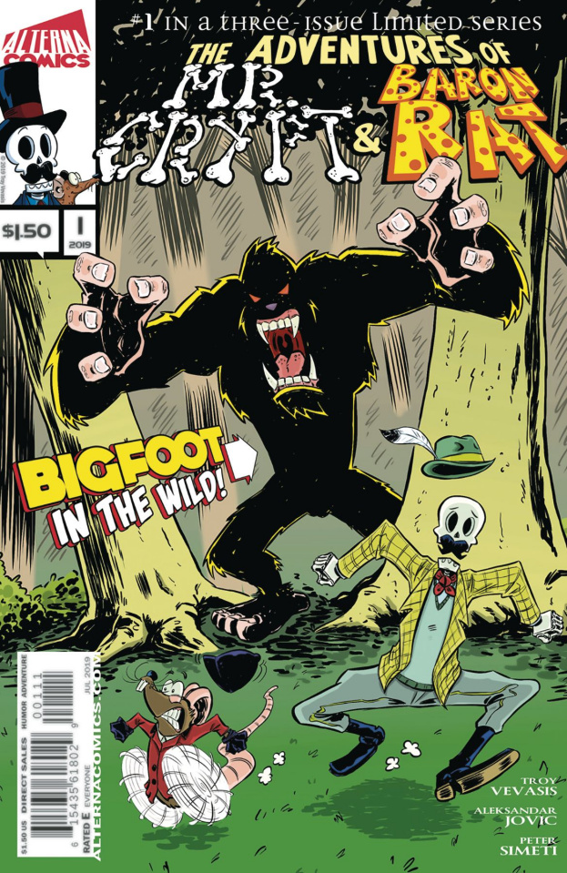 The Adventures of Mr. Crypt & Baron Rat #1