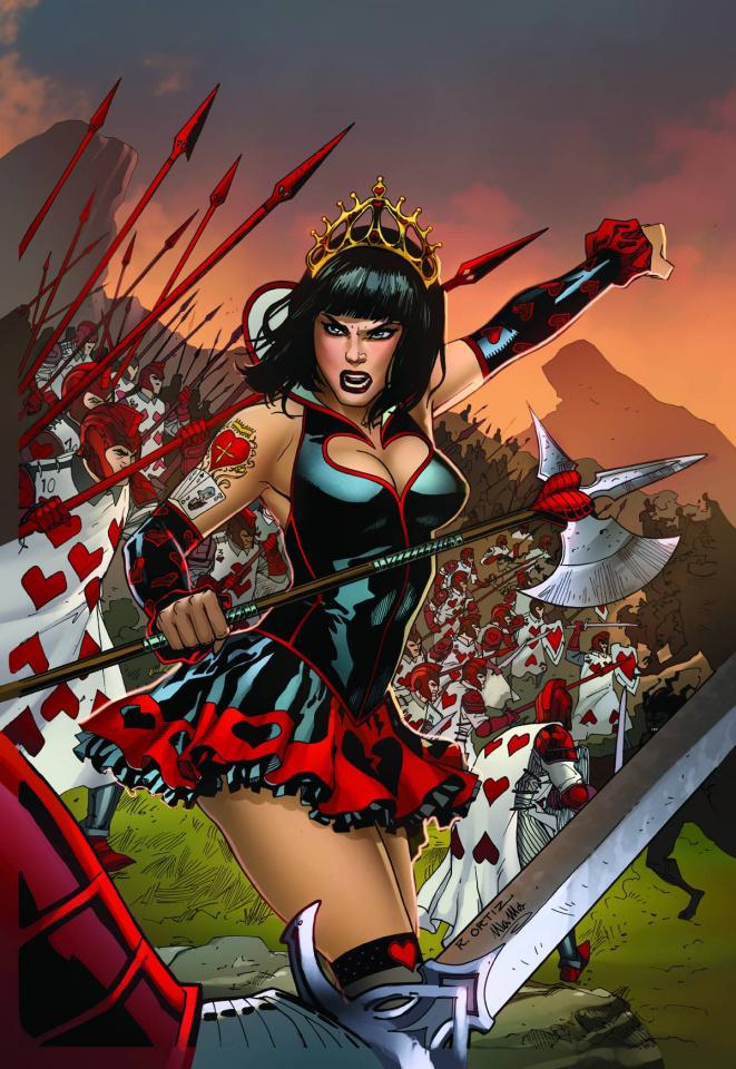 Grimm Fairy Tales: Wonderland - Clash of Queens #1 (Ortiz Cover)