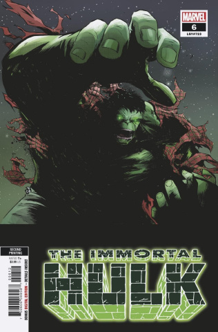 The Immortal Hulk #6 (Garbett 2nd Printing)