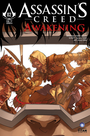 Assassin's Creed: Awakening #2 (Aggs Cover)