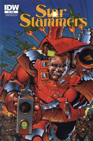 Star Slammers Remastered #4