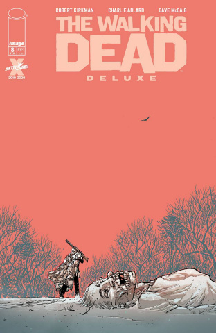 The Walking Dead Deluxe #8 (Moore & McCaig Cover)