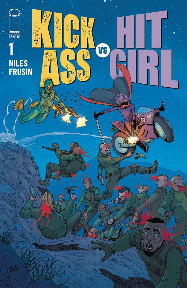 Kick-Ass vs. Hit-Girl #1 (Araujo Cover)