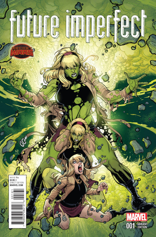 Future Imperfect #1 (Ingwenible Hulk Cover)