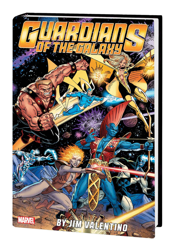 Guardians of the Galaxy by Jim Valentino (Omnibus)