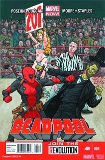 Deadpool #4 (2nd Printing)