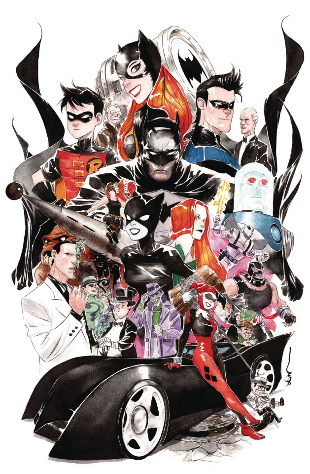 Batman: The Adventures Continue #2 (Dustin Nguyen Cover)