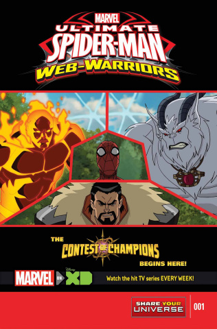 Marvel Universe: Ultimate Spider-Man - The Contest of Champions #1