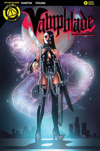Vampblade #2 (Homage Cover)