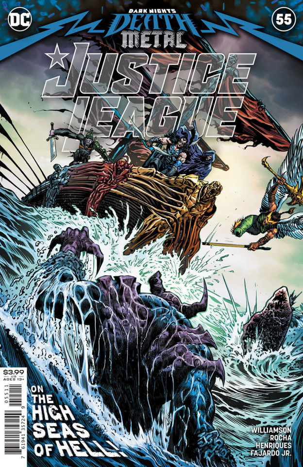 Justice League #55 (Liam Sharp Cover)
