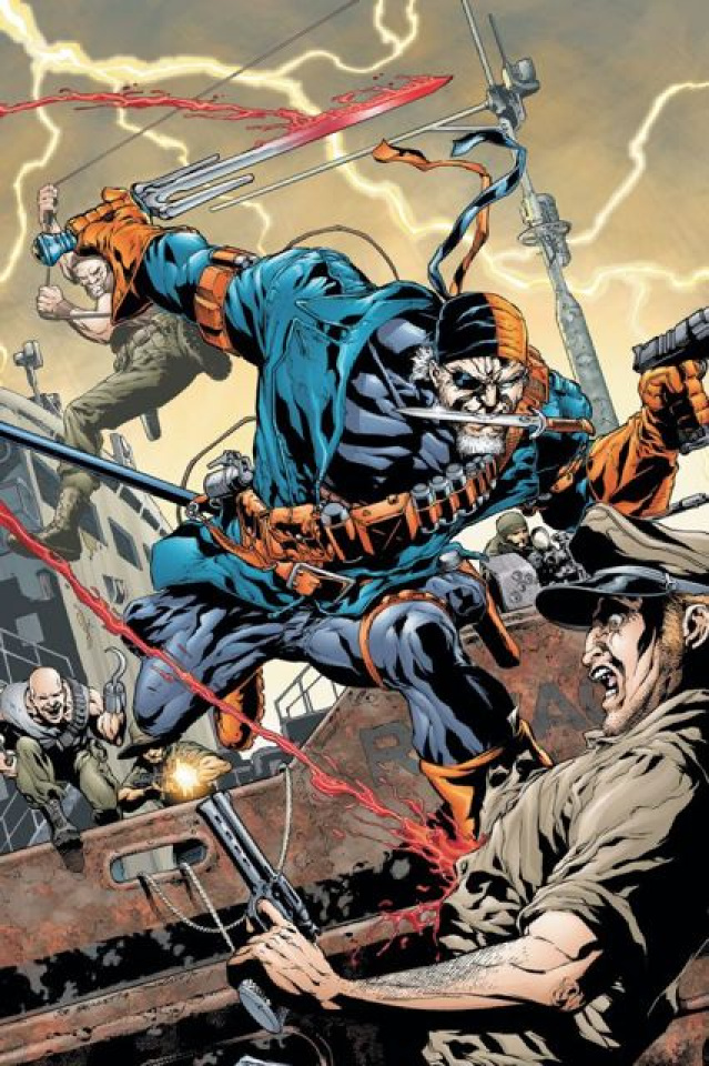 Flashpoint: Deathstroke and the Curse of the Ravager #1