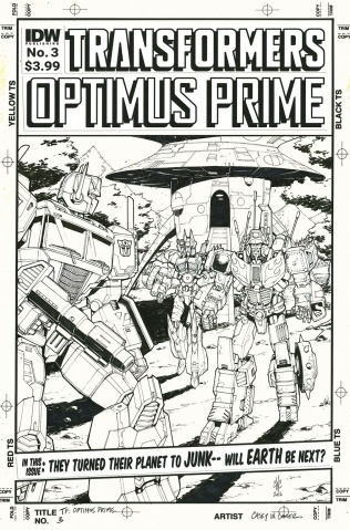 Optimus Prime #3 (Artist's Edition)